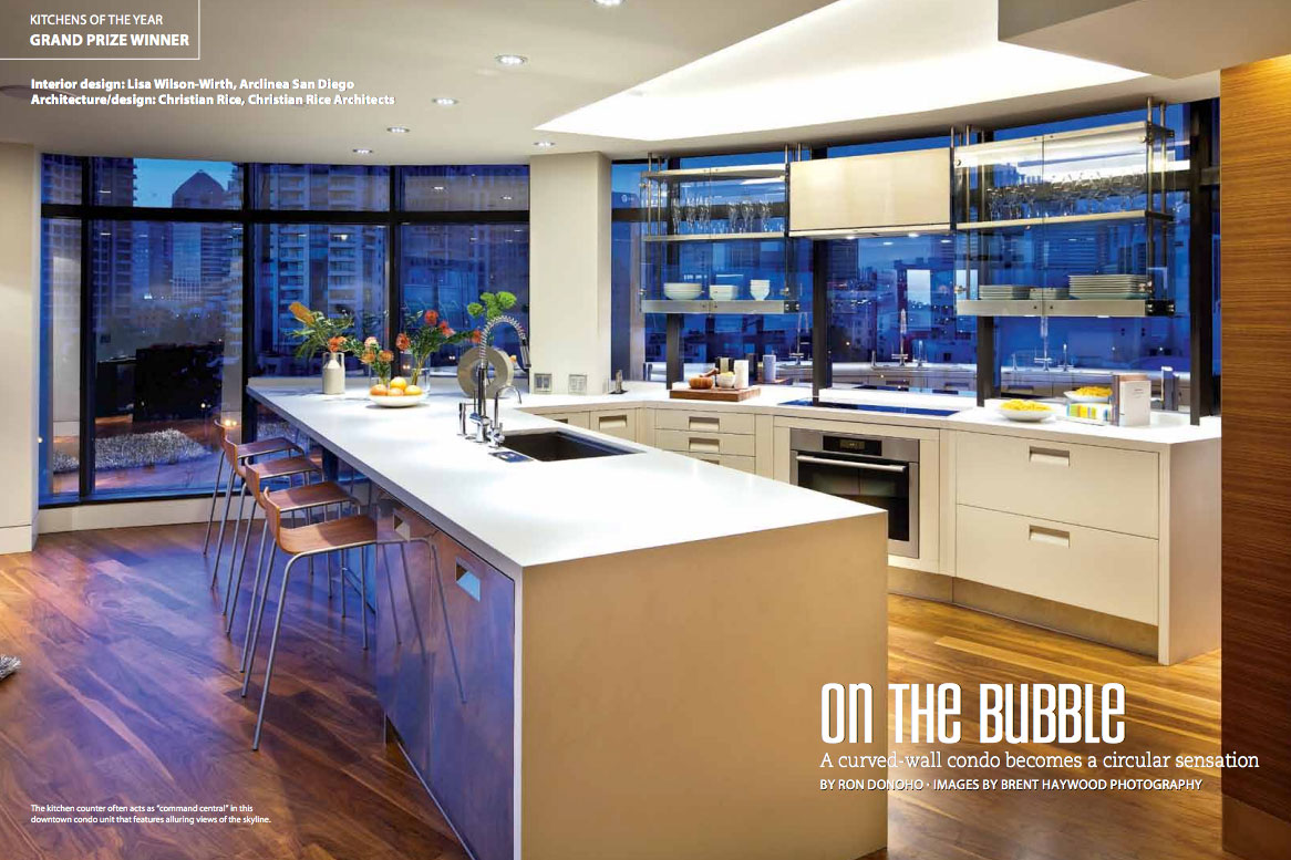 Harbor Club Residence Featured in San Diego Home & Garden Magazine